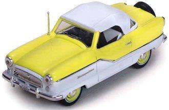 1:43 1959 Nash Metropolitan Coupe (Sunburst Yellow/White)