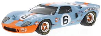 "1969 Ford GT40 ""Gulf Oil #6, John Wyer A.E., 24h Le Mans, J.Ickx/J.Oliver"""