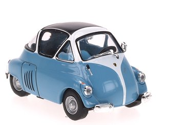 1954 Iso Isetta (Light Blue/White)