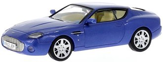 1:43 2003 Aston Martin DB7 Vantage Zagato (Blue Metallic)