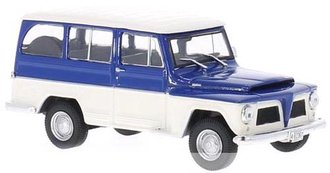 1968 Willys Rural (Blue/White)