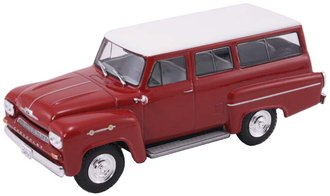 1:43 1963 Chevrolet Amazona (Dark Red/White)