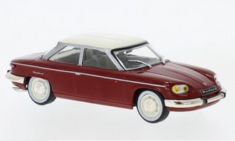 1:43 1964 Panhard 24 BT (Dark Red/White)