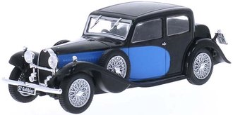 1934 Bugatti 57 Galibier (Blue/Black)