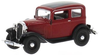 1935 Opel P4 (Dark Red/Black)