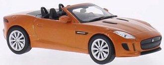 2014 Jaguar F-Type S (Orange Metallic)
