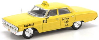 "1:43 1967 Ford Galaxie 500 Taxi ""New York City Yellow Cab Co."""