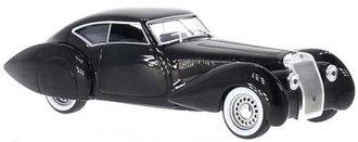 1937 Delage D8 120-S Pourtout Aero Coupe (Black)
