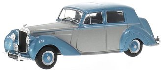 1950 Bentley MK VI (Silver/Blue Metallic)