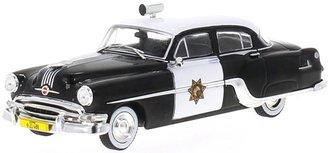 """1:43 1954 Pontiac Chieftain Police """"CHP"""" (Black/White)"""