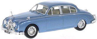 1960 Jaguar MK II (Light Blue Metallic)