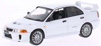 1:43 1998 Mitsubishi Lancer Evo V (White)