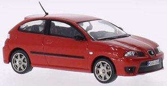 1:43 2006 Seat Ibiza Cupra TDi (Red)