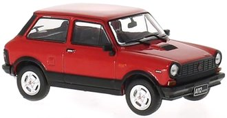 1:43 1979 Autobianchi A112 Abarth (Red/Black)