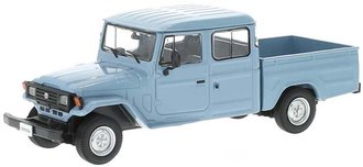 1:43 1976 Toyota Land Cruiser Bandeirante Pickup (Gray)