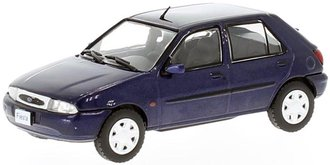 1:43 1996 Ford Fiesta (Blue Metallic)
