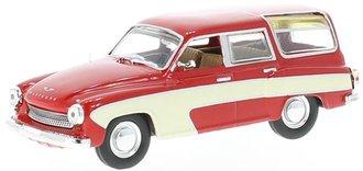 1:43 1960 Wartburg 312 Camping (Red/White)
