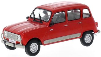 1:43 1978 Renault 4 Clan (Red)