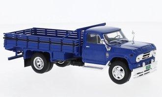 1:43 1960 Chevrolet C 60 Stake Truck (Blue)
