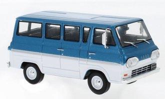 1:43 1964 Ford Econoline (Turquoise Metallic/White)