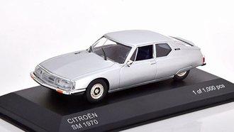 1:43 1970 Citroën SM (Silver)