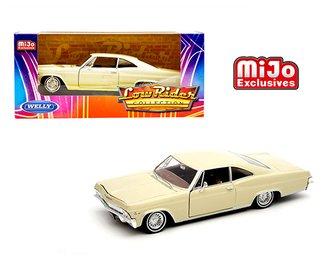 1:24 1965 Chevrolet Impala SS 396 Low Rider Hardtop (Light Beige)