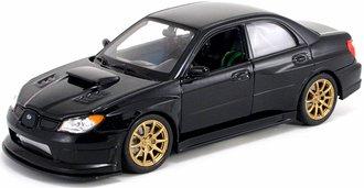 1:24 2006 Subaru Impreza WRX STI (Black)