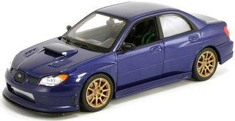 1:24 2006 Subaru Impreza WRX STI (Blue)
