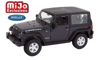 1:24 2007 Jeep Wrangler (Dark Gray Metallic)