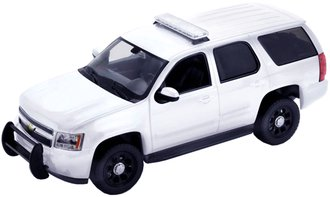 2008 Chevrolet Tahoe Police Version (White) w/3 Light Bars