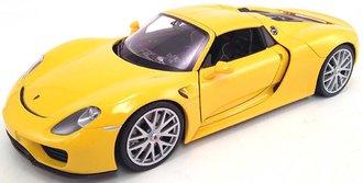 1:24 Porsche 918 Spyder Hardtop (Yellow)