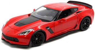 1:24 2017 Chevrolet Corvette Z06 (Red)