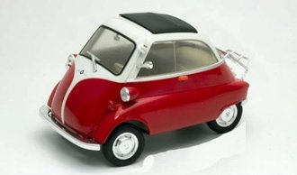 1:18 BMW Isetta 250 (Red/White)