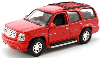 1:43 Cadillac Escalade SUV (Red)
