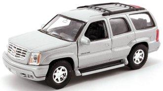 1:43 Cadillac Escalade SUV (Silver)