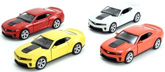 1:43 Chevy Camaro ZL1 Hardtop (Set of 4)