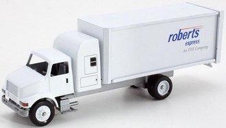 "International 4100 Straight Sleeper Truck w/Sleeper ""Roberts Express - An FDX Company"""