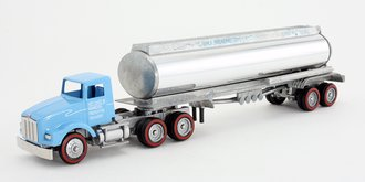 """Kenworth T800 Day Cab w/Cylindrical Tanker Trailer """"Hot Shot #1 - Winross Prototype Delivery"""""""