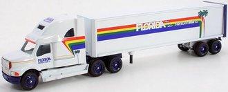 "Ford Aeromax Tractor w/Van Trailer ""Florida Freightways"""