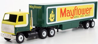 "Mack COE Sleeper w/Van Trailer ""Mayflower"""