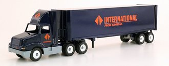 "International 8300 Tractor w/Van Trailer ""International"" (Navy Blue)"