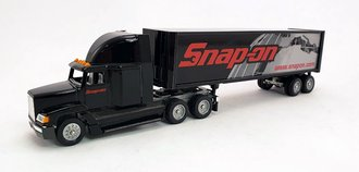 "Freightliner Sleeper w/Van Trailer ""Snap-On Tools"""