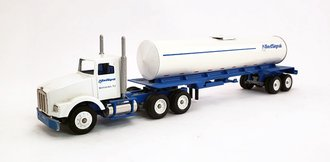 "Kenworth T800 ""Allied Signal"" w/Tanker (White/Blue)"