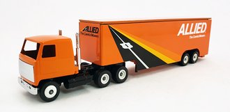 "Mack COE Sleeper w/Moving Trailer ""Allied"""