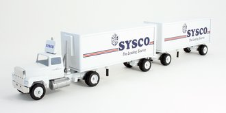"Ford Semi w/Tanker ""Mountain Dew"" (White/Green)"