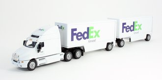 "International Semi w/53' Trailer ""Mountain Dew"" (White)"