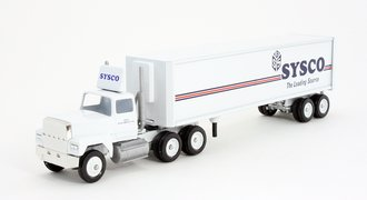 """Ford 9000 Day Cab w/Reefer Trailer """"Sysco"""""""
