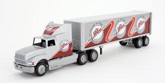 "Ford AeroMax Sleeper w/Van Trailer ""Dr. Pepper"""