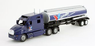 "Kenworth T2000 Mid-Roof Sleeper w/Elliptical Tanker Trailer ""Valvoline"""