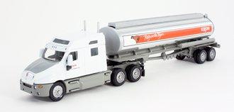 "Kenworth T2000 Mid-Roof Sleeper w/Elliptical Tanker Trailer ""Exxon"""